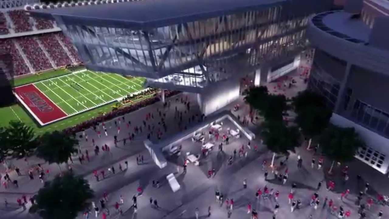 University Of Cincinatti >> Nippert Stadium Renovation & Construction Renderings - YouTube