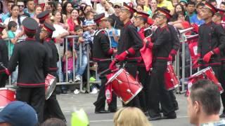 FERIA DE LAS FLORES, SANTA RITA DE SINITAVÉ(Ituango)Banda Marcial ECOS DE LA MONTAÑA.
