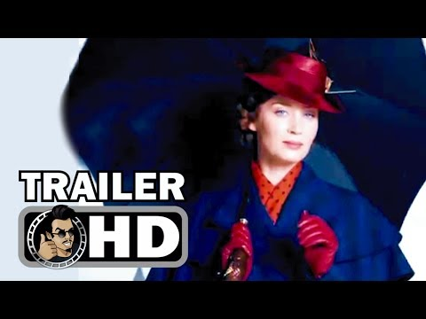 MARY POPPINS RETURNS First Look Teaser Footage (2018) Emily Blunt Disney Movie HD