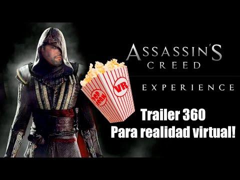 """""""ASSASSIN'S CREED"""" La pelicula - Trailer en realidad virtual"""