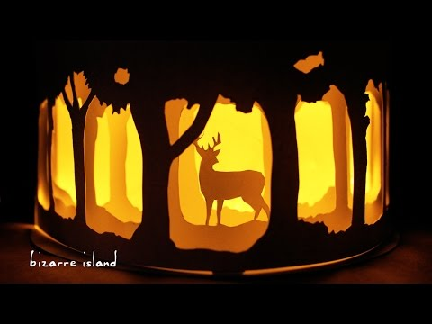 Easy Affordable DIY Patronus Nightlight w/ ONLY 4 Materials🦌   c for craft