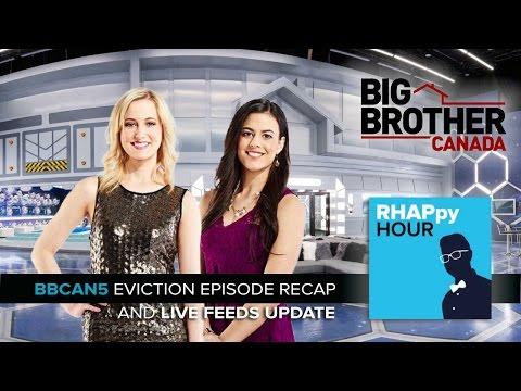 RHAPpy Hour | Big Brother Canada 5 Eviction Recap | Ashleigh Wood & Pili Nemer