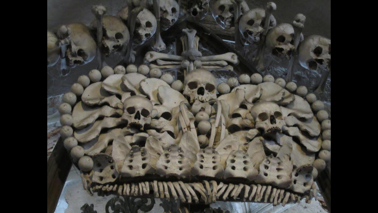 Bone Church Near Prague Kostnice Sedlec Ossuary Kutna