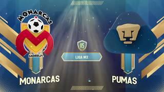 Monarcas 2- 0 Pumas | Liga MX | Apertura 2019