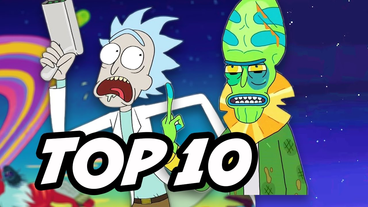 Rick and Morty Season 2 - TOP 10 Most Powerful Characters