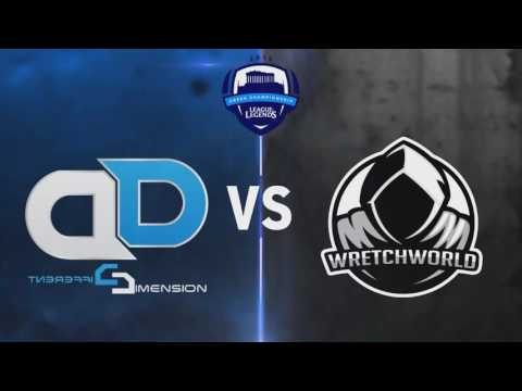 League of Legends Greek Championship Season 1 - Week 4 | Different Dimension eSports vs. Wretchworld