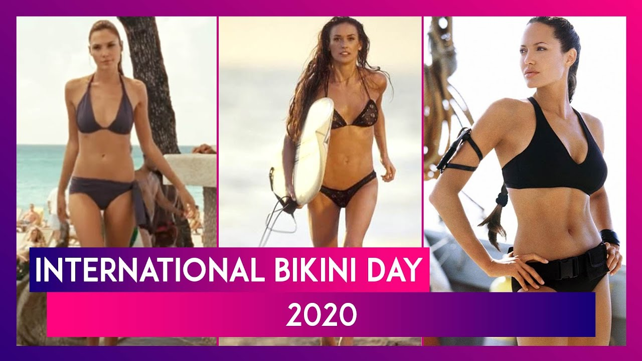International Bikini Day 2020: Here's Looking At Some of the Iconic Bikini Scenes in Hollywood!