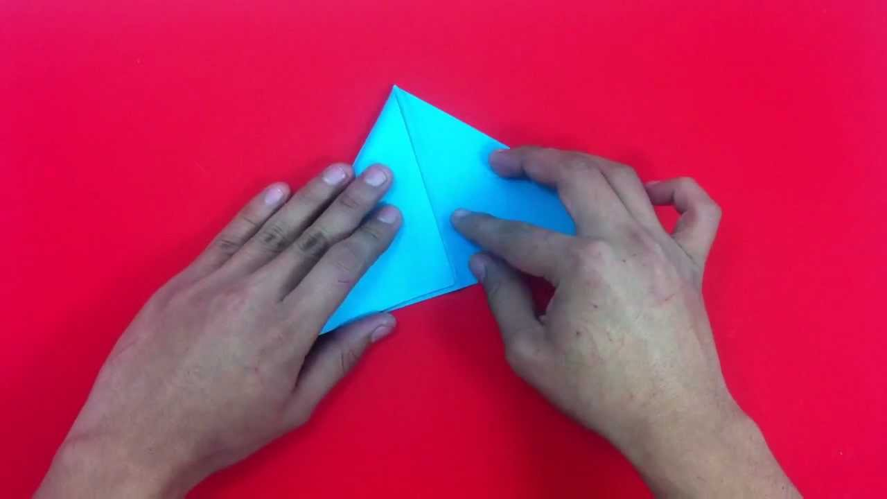 Hacer pez de origami manualidades para ni os youtube - Manualidades para ninos con papel ...