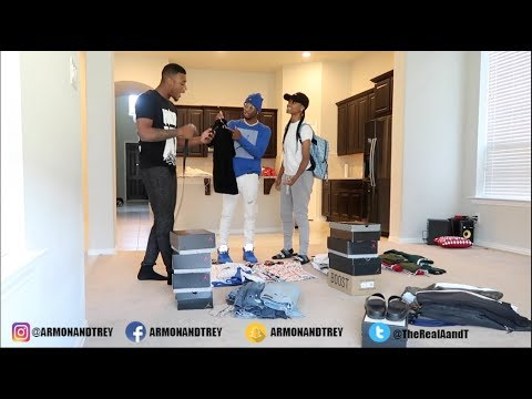 SELLING YOUR WARDROBE PRANK ON PERFECLAUGHS!!!!