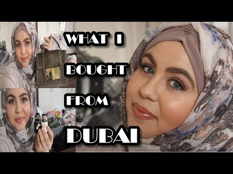 DUBAI SHOPPING HAUL ( WHAT I BOUGHT IN DUBAI?) | MARWA CHEBBI