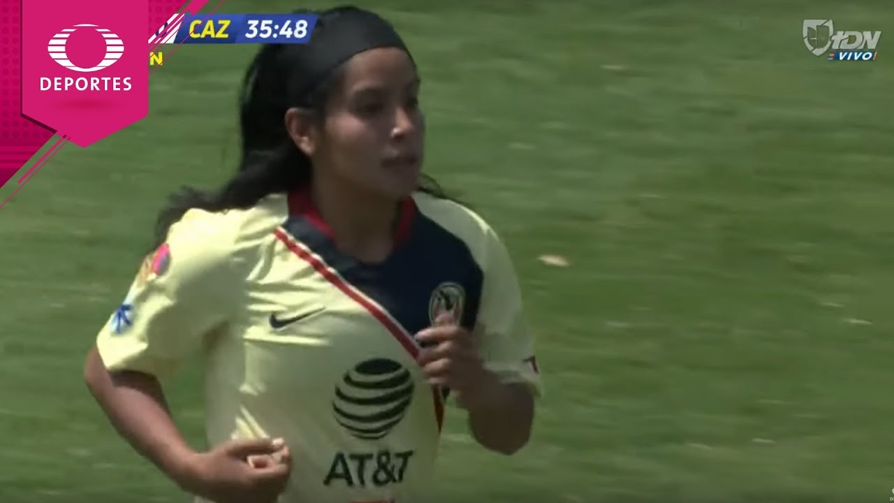 Gol de Lucero Cuevas | América 1 - 0 Cruz Azul | Liga MX Femenil - J12 | Televisa Deportes