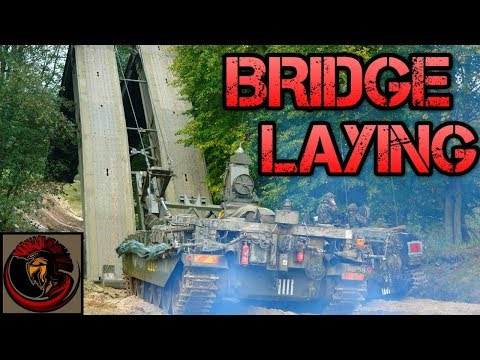 How Does The British Army Lay Bridges?