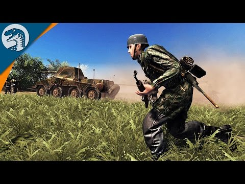 SS DIVISION COUNTERATTACKS | MOD | Men of War: Assault Squad 2 Gameplay