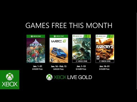 Xbox - January 2019 Games with Gold