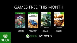 Xbox   January 2019 Games With Gold