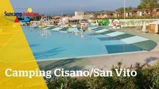 360° video campingtour op Camping Cisano/San Vito - Suncamp holidays