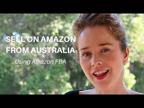 Selling on Amazon from Australia with FBA
