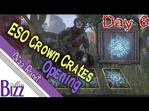 Day 6 of PTS ESO Crown Crates Opening! Finally got some legendary collectible drops!