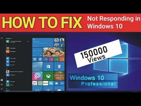 Cách để Khắc phục Lỗi Windows Not Responding