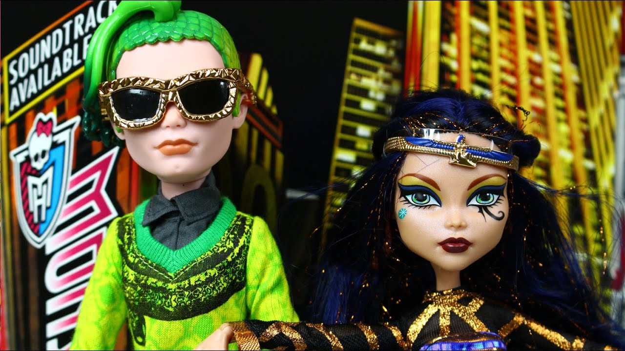 Cleo de nile deuce gorgon boo york boo york monster high youtube - Monster high deuce ...