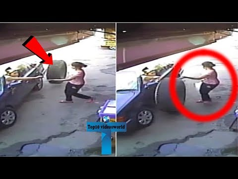 Top 10 Most Bizarre Things Caught On Security Cameras And CCTV