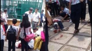 Nữ sinh lớp 9 cầm dao lên trường rồi đâm hai mạng nữ cùng tuổi nhập viện tử vong