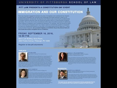 Constitution Day:  Immigration & Our Constitution
