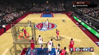 NBA 2K15 My Career Gameplay - Racking Up the Assists on a 10 Day Contract