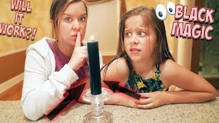 WE FIND A SECRET ROOM IN OUR HOUSE!! IS IT HAUNTED?!