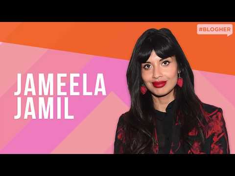 "Jameela Jamil (""The Good Place"") on Advertising, Fat-shaming, & I Weigh – BlogHer Health 2019"