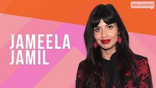 """Jameela Jamil (""""The Good Place"""") on Advertising, Fat-shaming, & I Weigh – BlogHer Health 2019"""