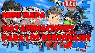 Minimap / Animaciones para personajes RPG MAKER MV TUTORIAL