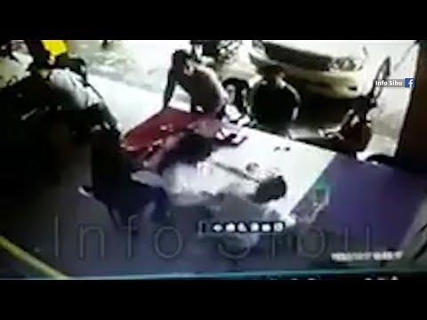 Fight breaks out in Sibu cafe