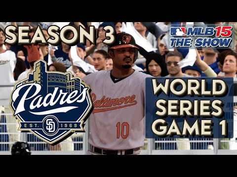 MLB 15 The Show Franchise Mode: San Diego Padres Ep. 58 | World Series Game 1!!!