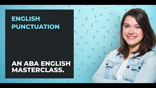 How to Use English Punctuation | A Guide