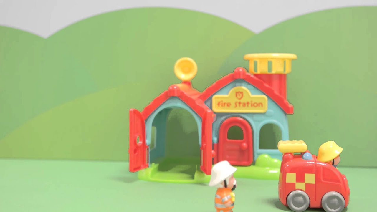 HappyLand Fire Station | Early Learning Centre - YouTube