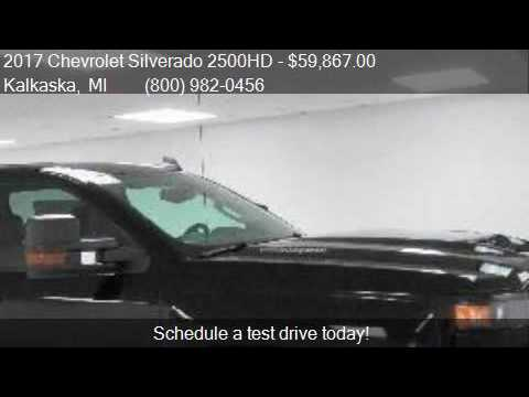 2017 chevrolet silverado 2500hd ltz z71 4x4 midnight for Voice motors kalkaska michigan
