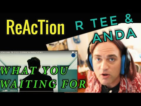 Reaction to R.Tee x Anda - What You Waiting For // 뭘 기다리고 있어 MV // Musicians React