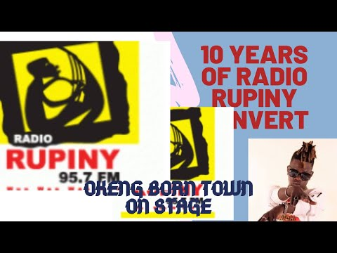 Entertainment With Radio Rupiny Convert In Northern Part Of Uganda With Uganda Comedy Singer, Okeng
