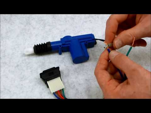 Simple 5 wire switch and door lock actuator kit - YouTube on