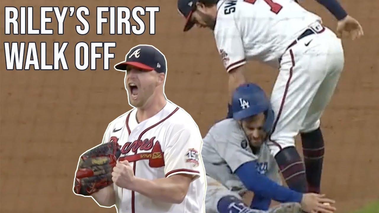 Download Braves walk off after Dodgers baserunning mistake, a breakdown