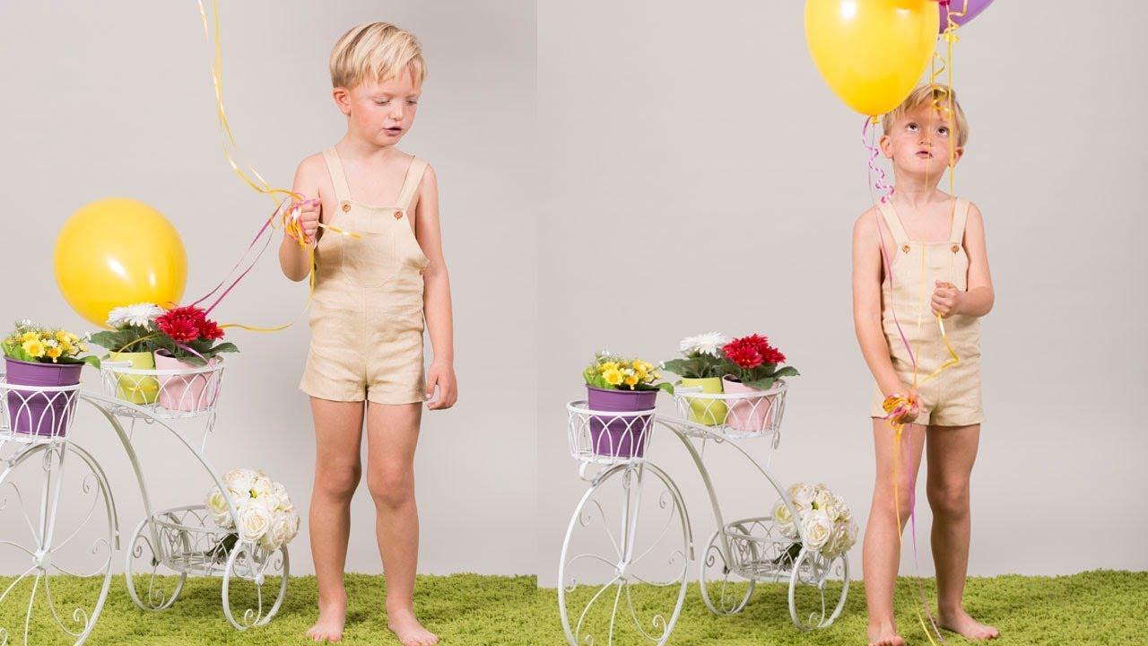 Peto de niño. REVISTA PATRONES INFANTILES Nº 6 - YouTube