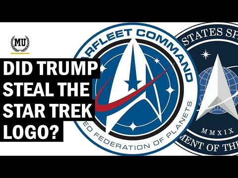 Did Space Force Copy The Starfleet Logo From Star Trek?