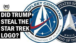 Gambar cover Did Space Force Copy the Starfleet Logo from Star Trek?
