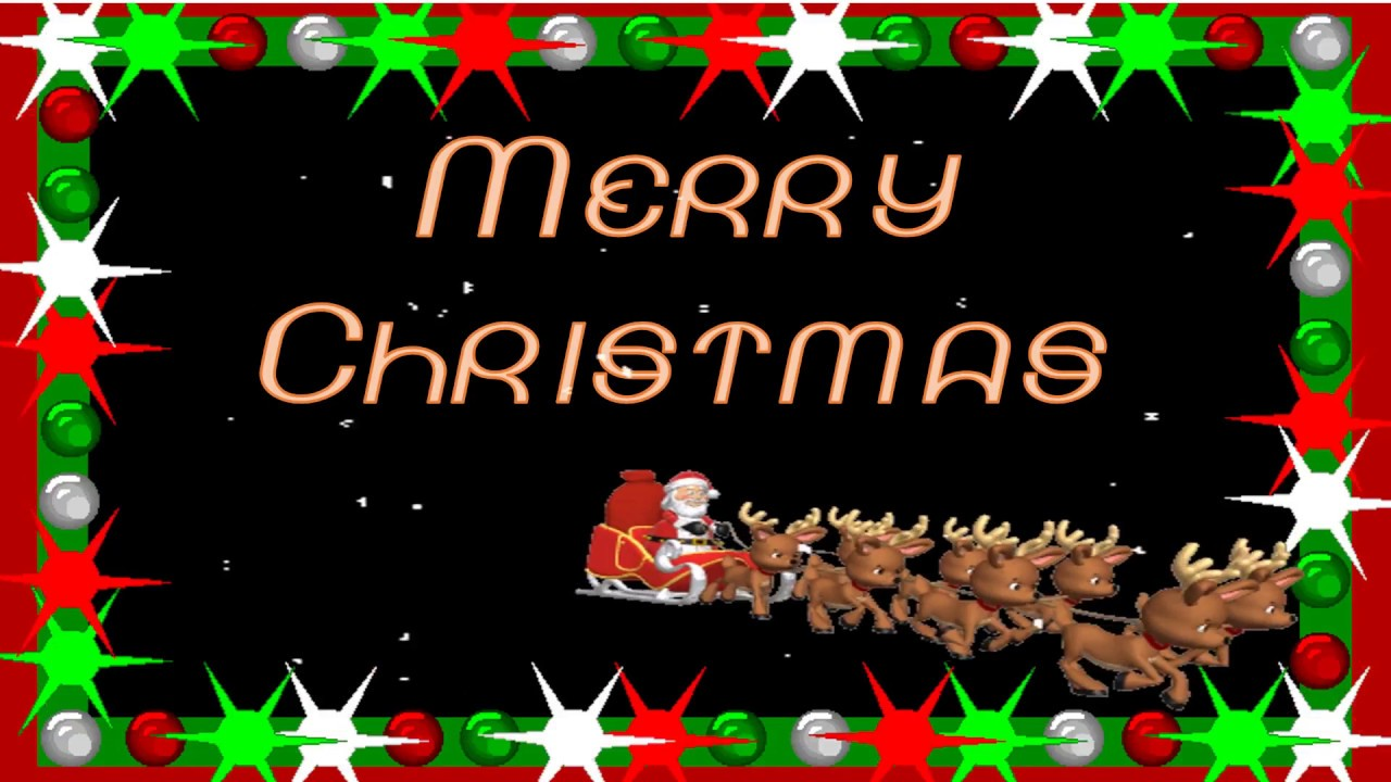 Best Merry Christmas Animation Video Christmas Wishesgreetings