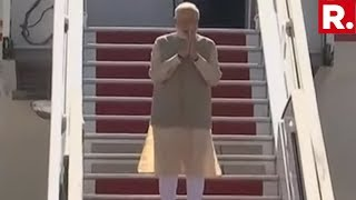 Moments After Address At UNESCO HQ In Paris, PM Modi Emplanes For UAE