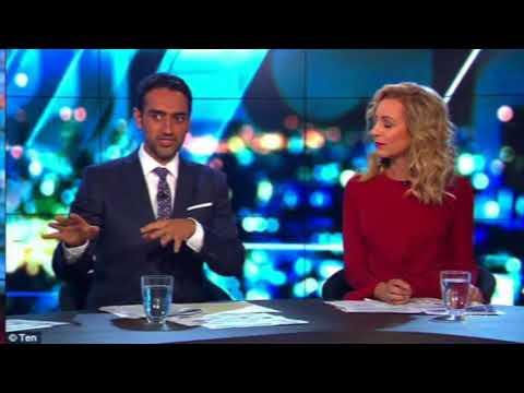 'Why is this clown still on air?' Waleed Aly is slammed for 'mansplaining' to a fellow panellist