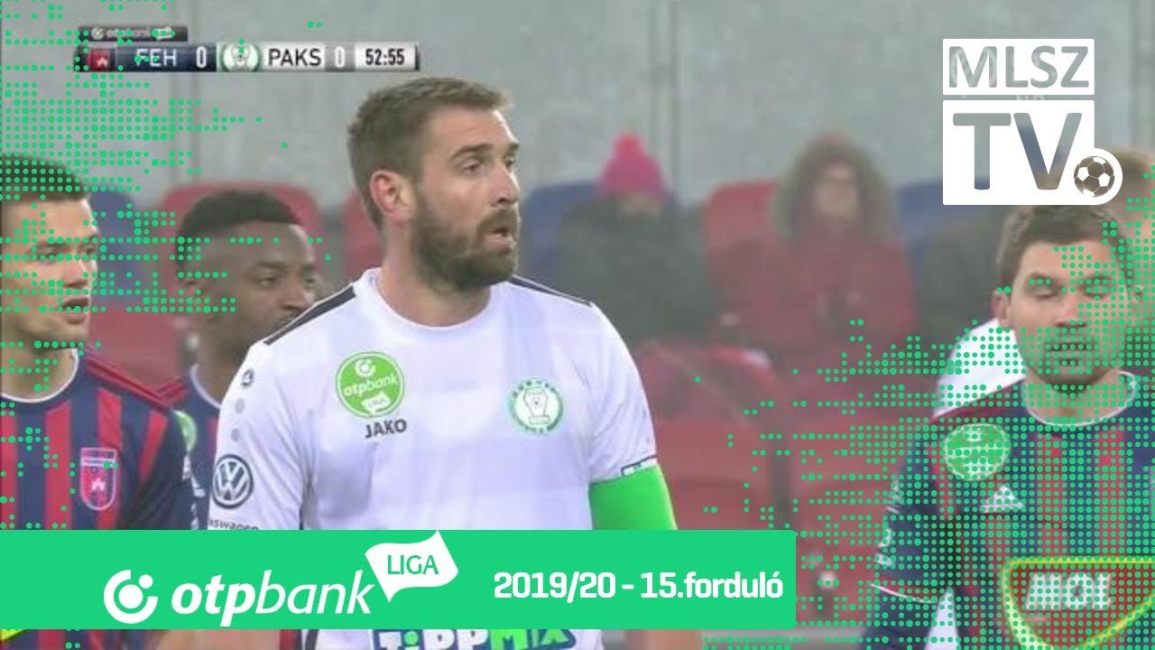 MOL Fehérvár FC – Paksi FC | 0-2 | (0-0) | OTP Bank Liga ...