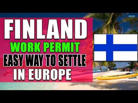 Settle In Europe 2020   Get Finland Work Permit 2020