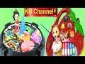KN Channel Đồ chơi câu cá TRONG BẾP NƯỚNG BBQ & BÚP BÊ CHƠI ĐÀN TRÁI DÂU CỦA Bé Na